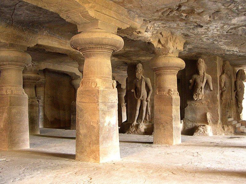 Фото Пещеры Элефанта. Индия, Махараштра, Гарапери, Cannon Trek