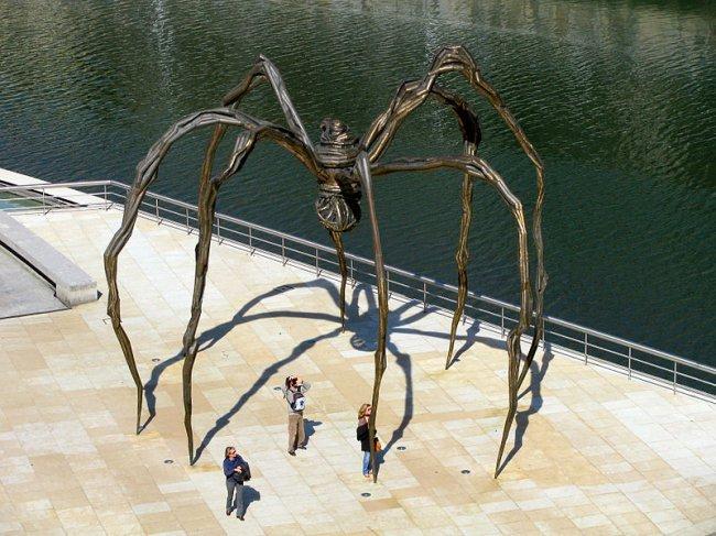 Фото Spider. Испания, Страна Басков, Бильбао, Ingelesen Landako Kaia