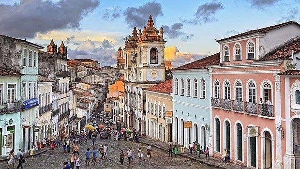 Фото Исторический центр города Садвадор-ди-Баия. Бразилия, Баия, Сальвадор, Rua do Saldanha, 16-30