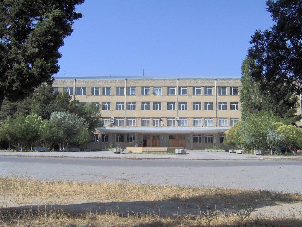 Фото Сумгаитский государственный университет. Азербайджан, Сумгаит, Azinin qabagi