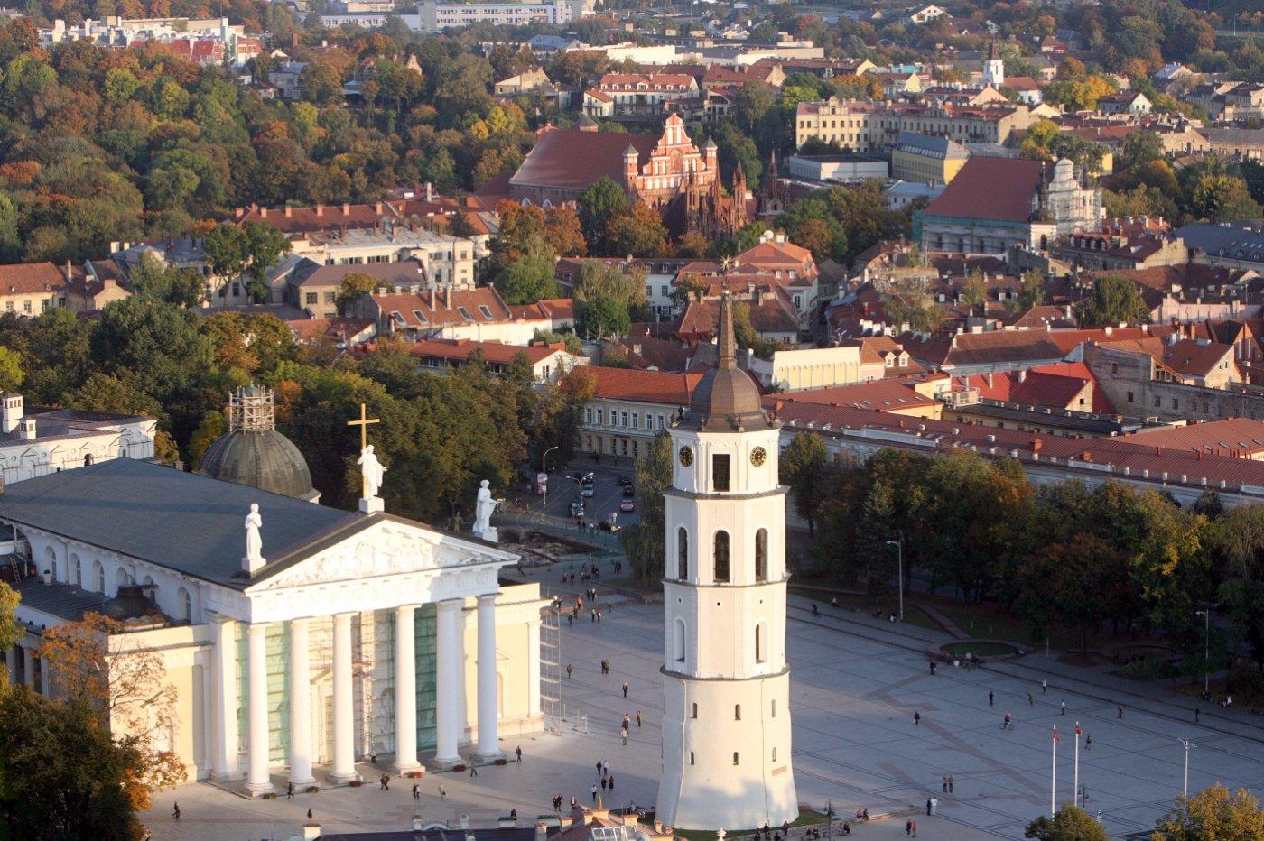 Фото Исторический центр Вильнюса. Литва, Вильнюсский уезд, Вилниаус м. савивалдйбе
