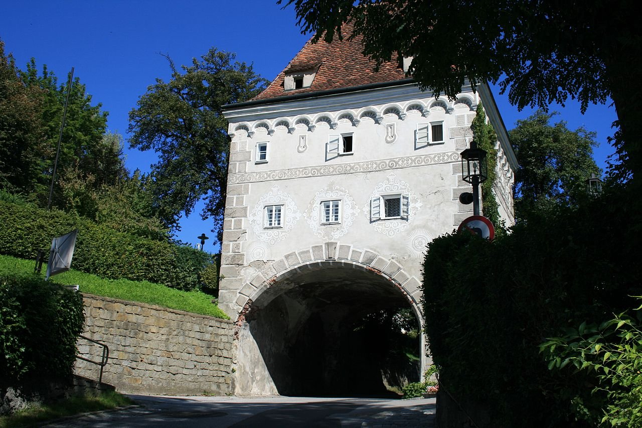 Фото Ворота Schnallentor. Австрия, Верхняя Австрия, Штайр, Франклин-D.-Роозевельт-штрассе