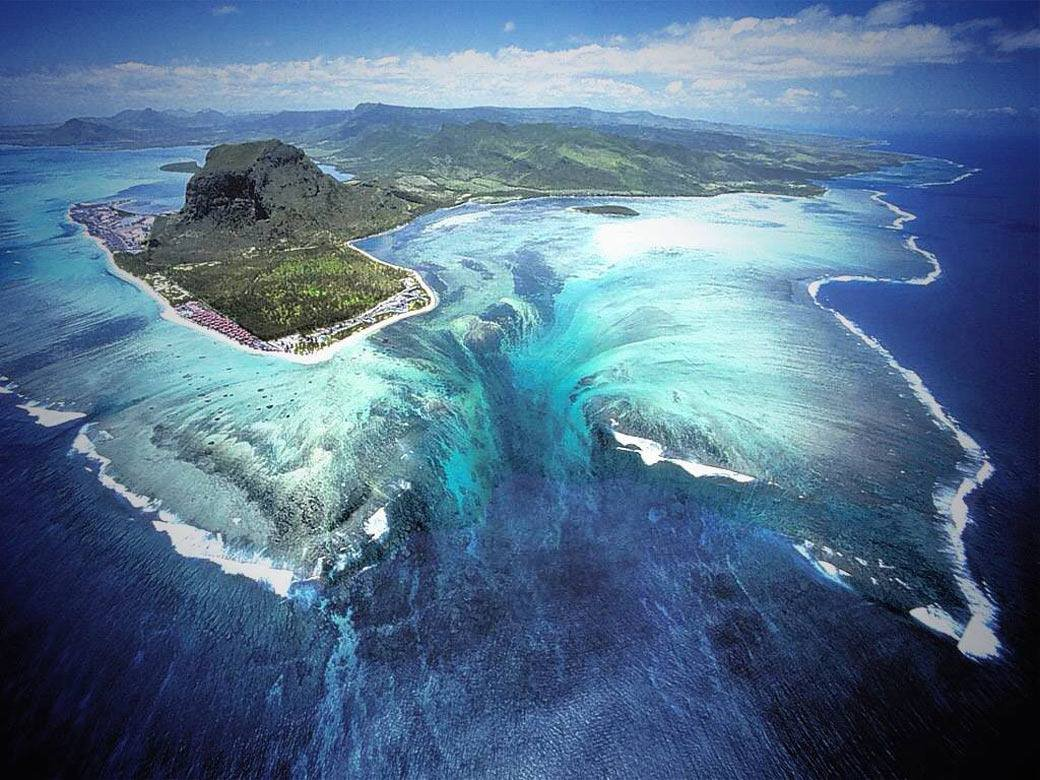 Фото Водопад. о. Маврикий, Ривьер-Нуар, B9