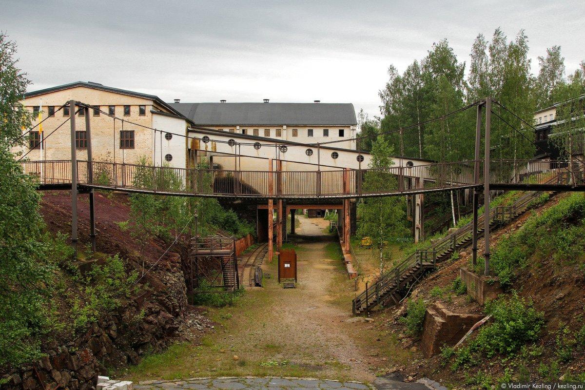 Фото Старая шахта. Финляндия, Северная Карелия, Kaivosmonttu