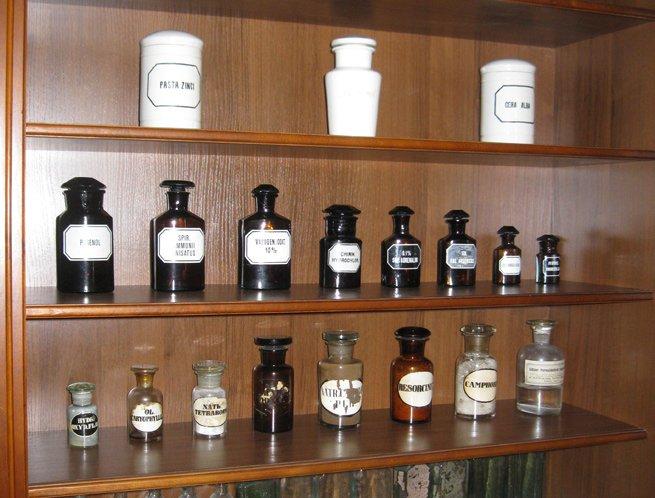 Фото Аптека-музей в Гродно. Беларусь, Гродненская область, Гродно, улица Кирова