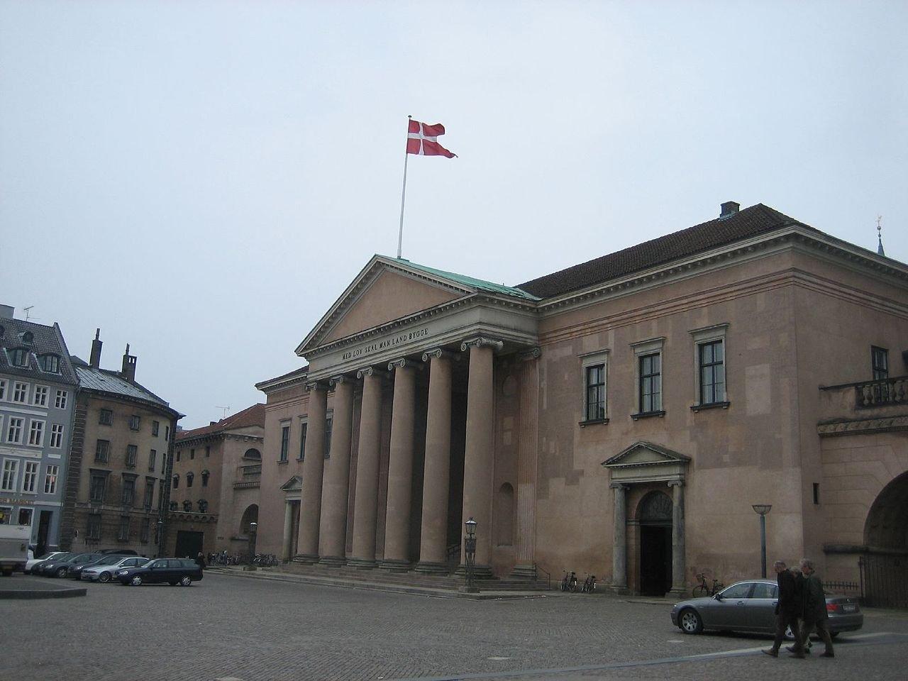 Фото Городской суд Копенгагена. Дания, Копенгаген, Nytorv, 25