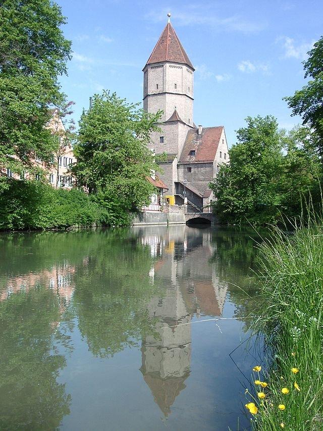 Фото Ворота святого Якова. Германия, Бавария, Аугсбург, Унтере Якобермауэр, 2