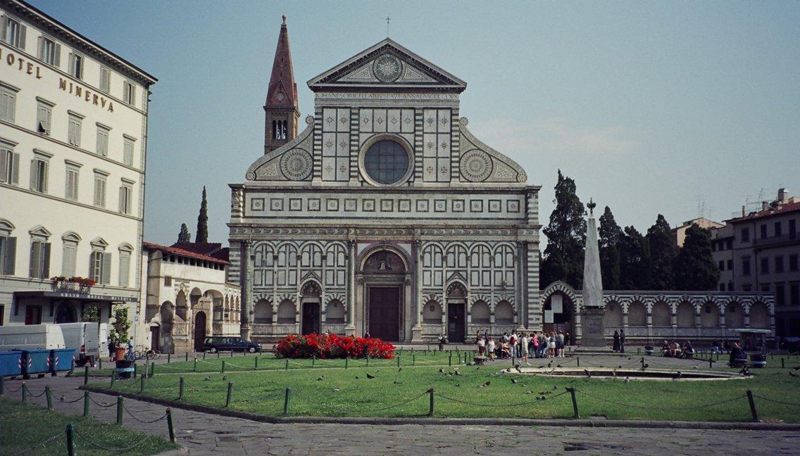 Фото Санта-Мария-Новелла. Италия, Тоскана, Флоренция, Via degli Avelli, 8R