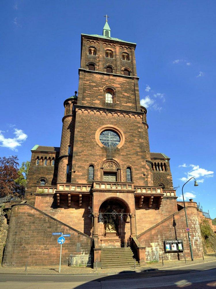 Фото Церковь святого Адальберта. Германия, Северный Рейн-Вестфалия, Аахен, Адальбертштифт, 6