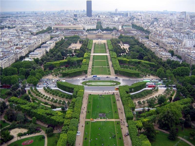 Фото Сад Тюильри. Франция, Ile-de-France, Paris, Allee Centrale