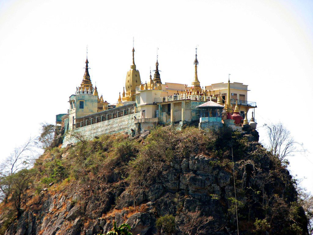 Фото Монастырь. Мьянма, Mandalay Region, Unnamed Road