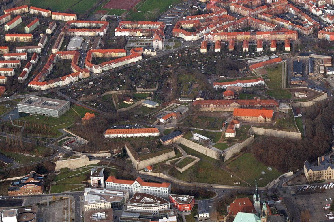 Фото Крепость Петерсберг. Германия, Thuringen, Erfurt, Petersberg, 9
