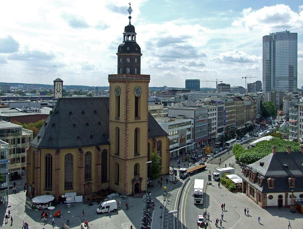 Фото Церковь Святой Екатерины. Германия, Hessen, Frankfurt am Main, Zeil, 129