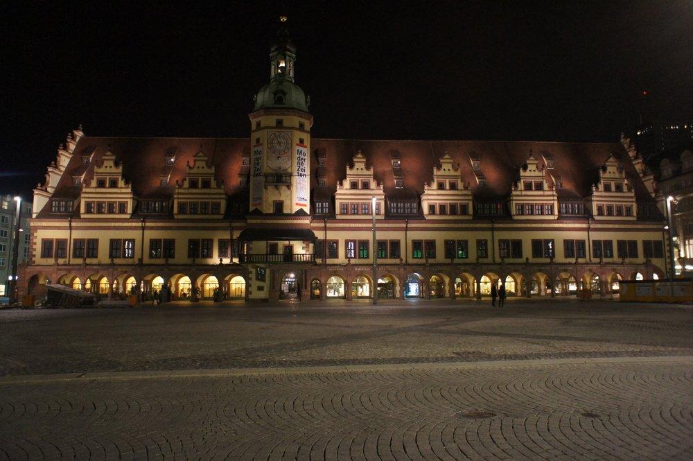 Лейпциг Старая ратуша