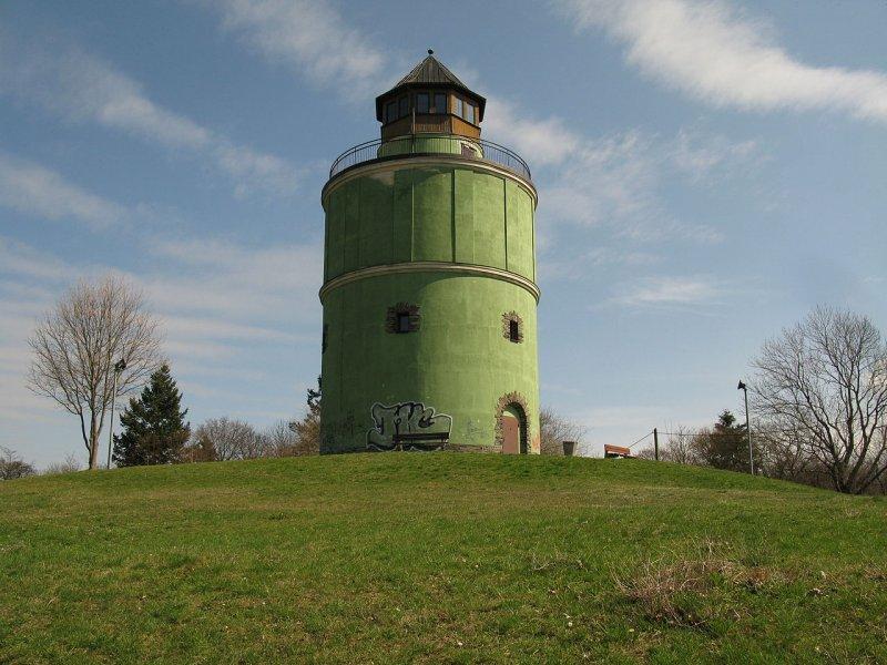 Водонапорная башня построена немцами