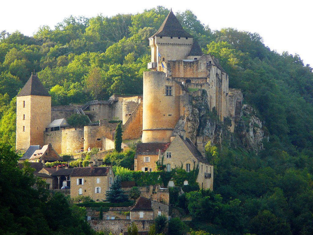 Фото Замок Кастельно. Франция, Aquitaine, Castelnaud-la-Chapelle, D57