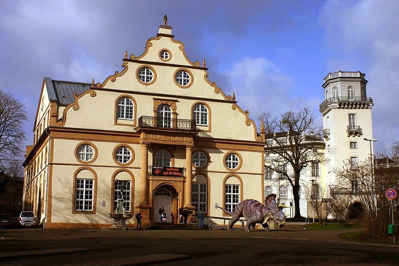 Фото Музей естествознания Оттониум. Германия, Hessen, Kassel, Steinweg, 2