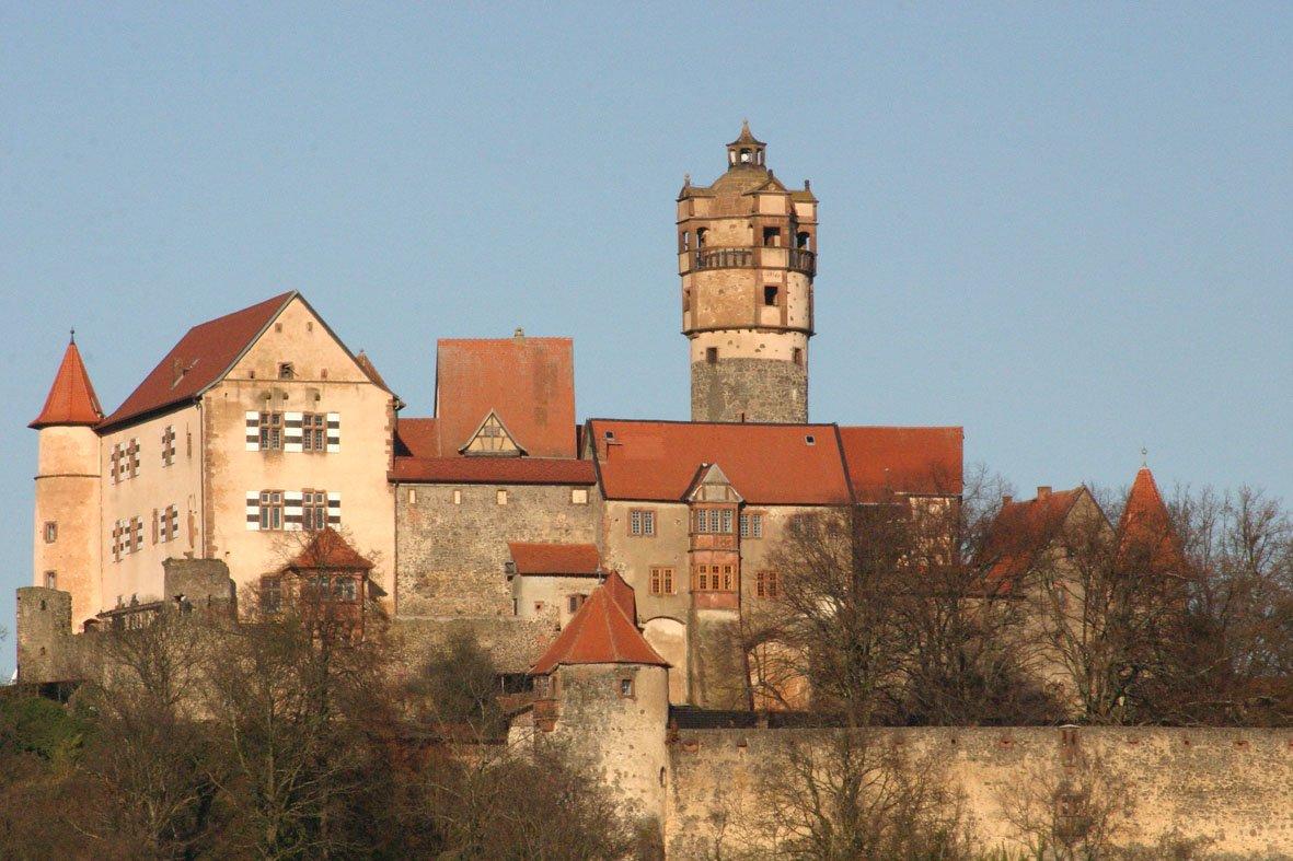 Фото Замок Ронненбург. Германия, Hessen, Ronneburg, Ronneburger Hof