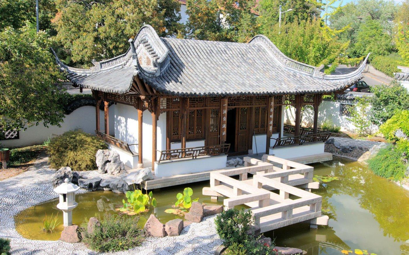 Фото Китайский сад. Германия, Baden-Wurttemberg, Stuttgart, Panoramastrase, 37