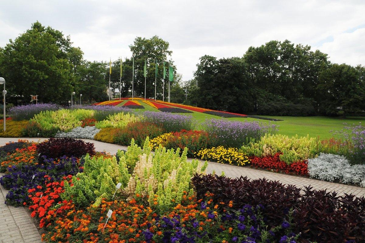 Фото Парк Луизы. Германия, Baden-Wurttemberg, Mannheim, Gartenschauweg, 24
