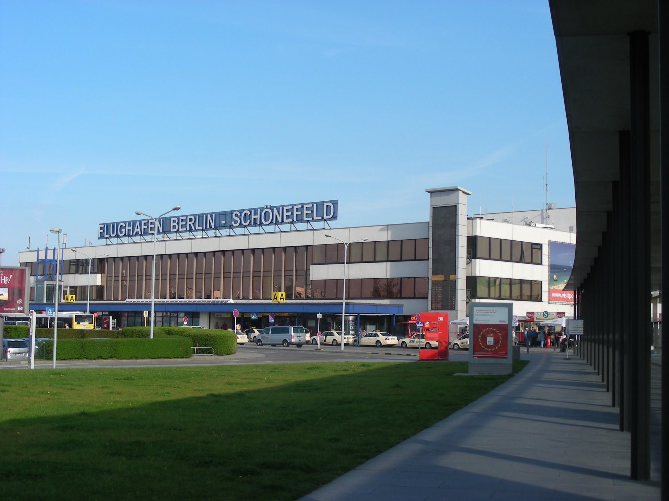 Фото Аэропорт Берлин-Шёнефельд. Германия, Brandenburg, Schonefeld, Unnamed Road
