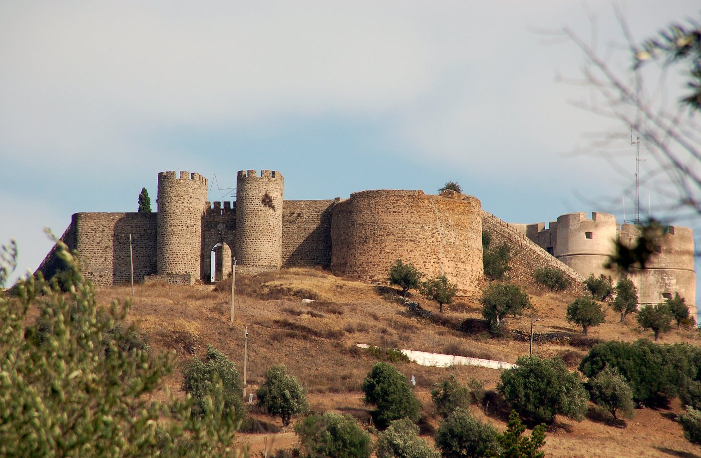 Фото Замок Эвора-Монте. Португалия, Evora, Evora Monte