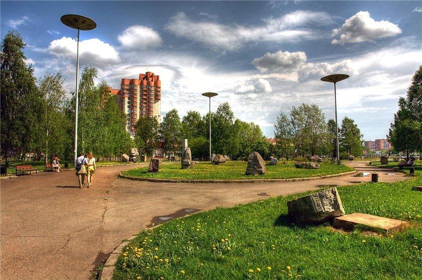 Фото Парк камней. Россия, Пермский край, город Пермь, улица Ленина, 91