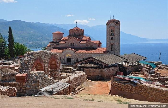 Фото Церковь Св. Пантелеймона. Македония (БЮРМ), Охрид, Канео Плаошник Патека