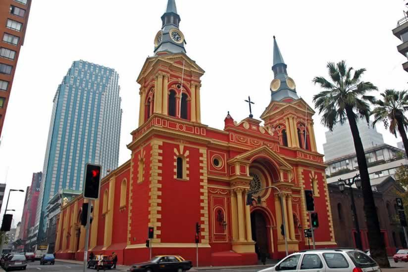 Фото Базилика Девы Мерседес. Чили, Region Metropolitana, Santiago, Enrique Mac Iver, 341