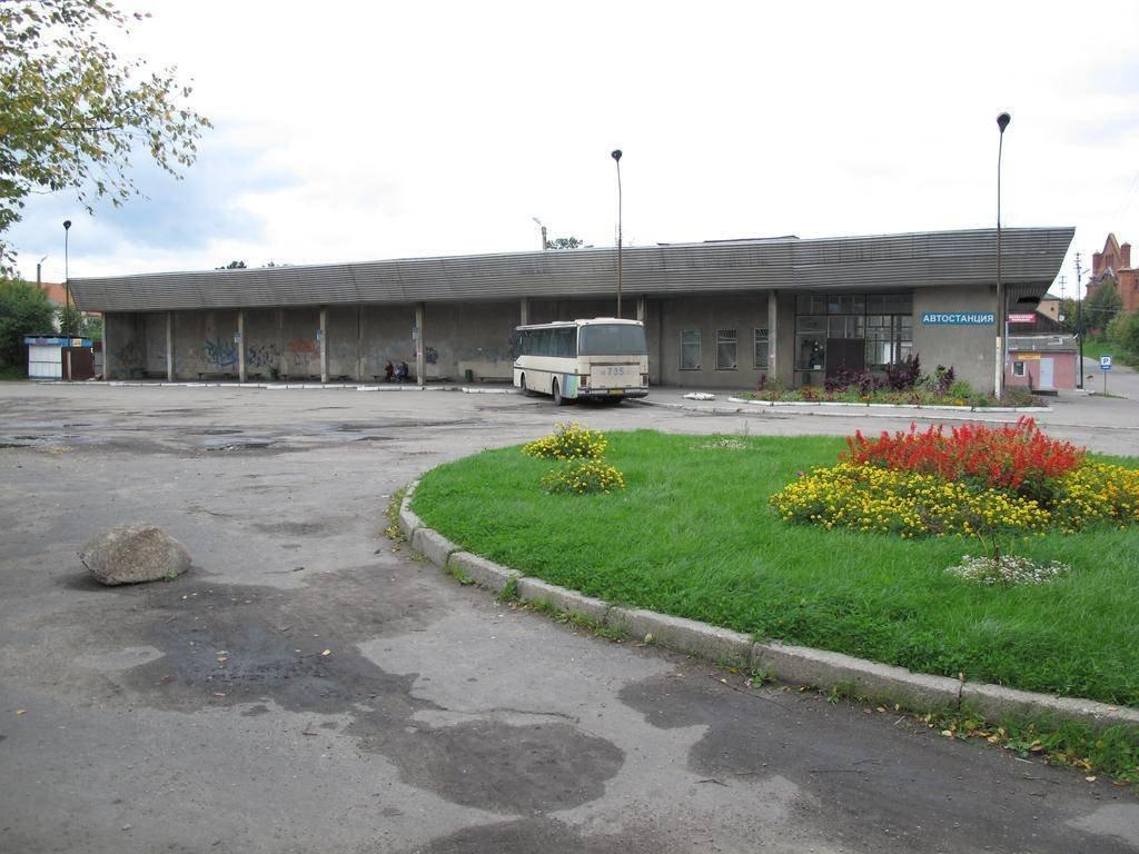 Фото автовокзал. Россия, Калининградская область, Озёрск, Комсомольская улица