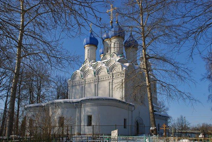 Фото Церковь Николая Чудотворца. Россия, Московская область, Батюшково