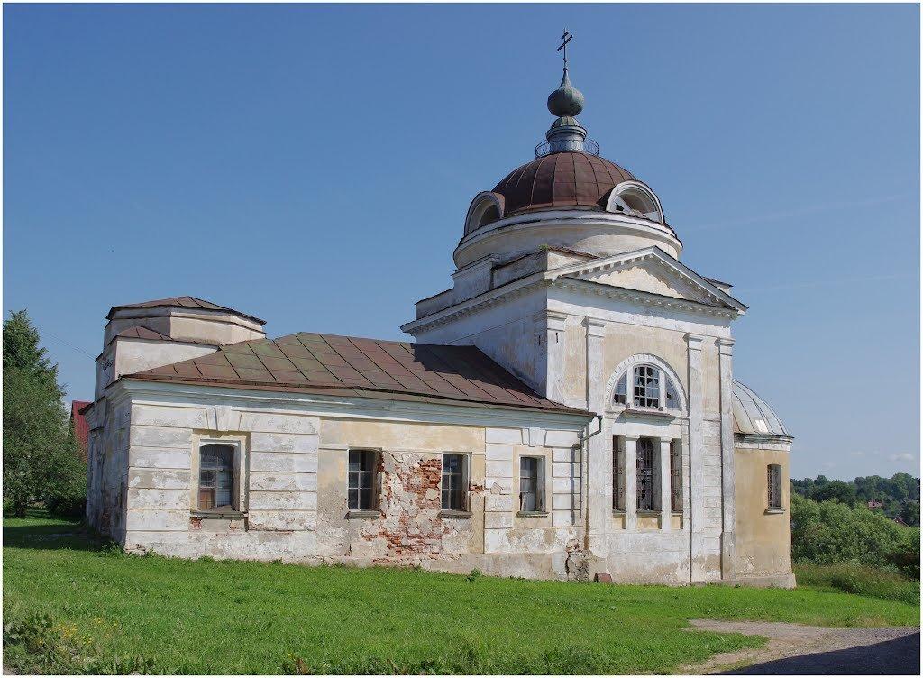 Фото Воскресенская церковь. Россия, Тверская область, Торжок, Грузинская улица, 7