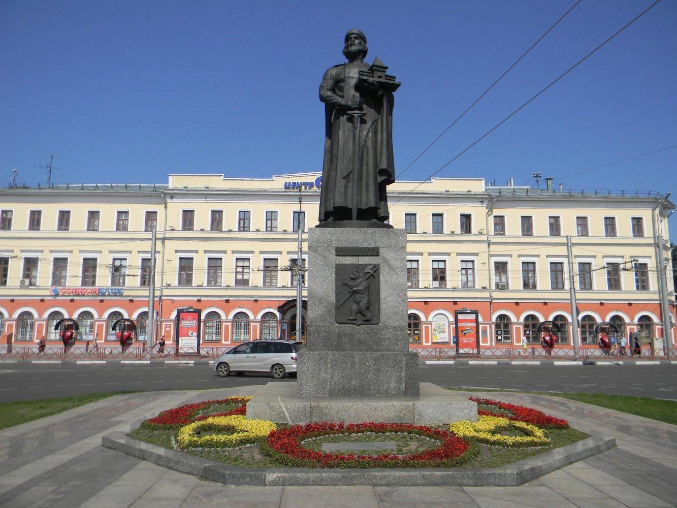 Памятники ярославля ярославу мудрому памятник в москве цена р