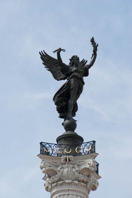 Фото Памятник Жирондистам. Франция, Bordeaux, Place des Quinconces, 2792