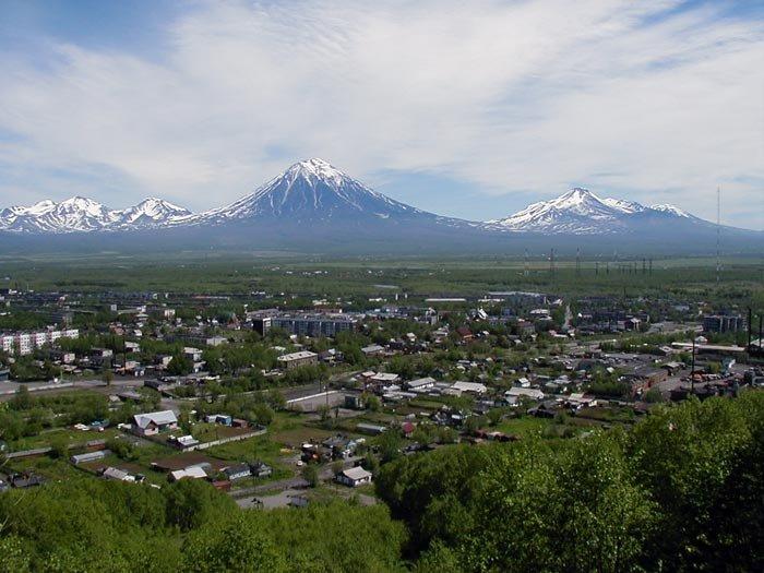 края фото камчатского города елизово