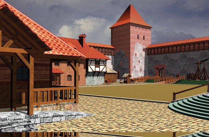 Фото Лидский замок. Беларусь, Гродненская область, Лида, улица Замковая