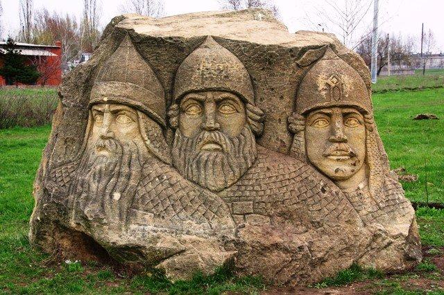 Фото Парк Святогор. Украина, Донецкая область, Дружковка, улица Павлика Морозова