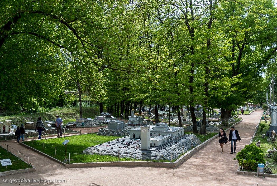 Фото Парк Крым в миниатюре.