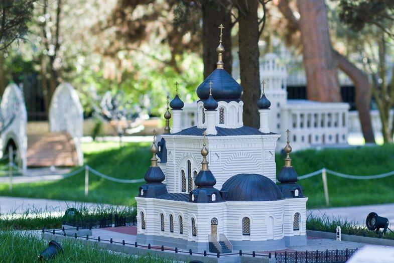Фото Крым в миниатюре.