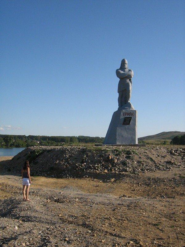 Фото Ермак. Россия, Алтайский край, Змеиногорск, Горный переулок