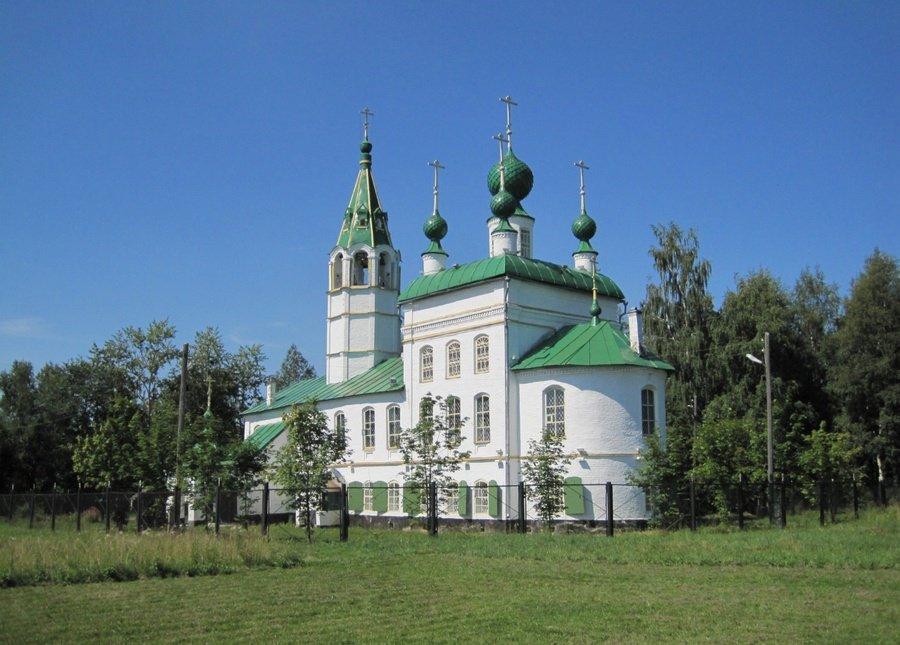 Фото Вознесенская церковь.