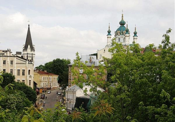 Фото  №2. Ukraine, Kyiv city, Kyiv, Andriivs