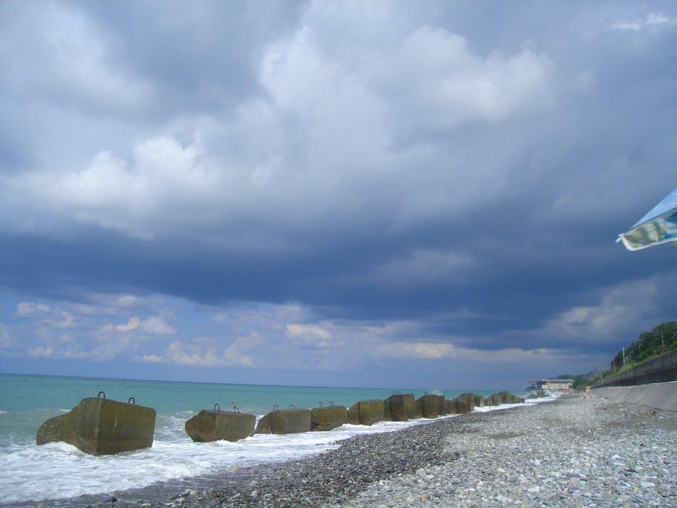 Дикий пляж в лазаревском фото на карте