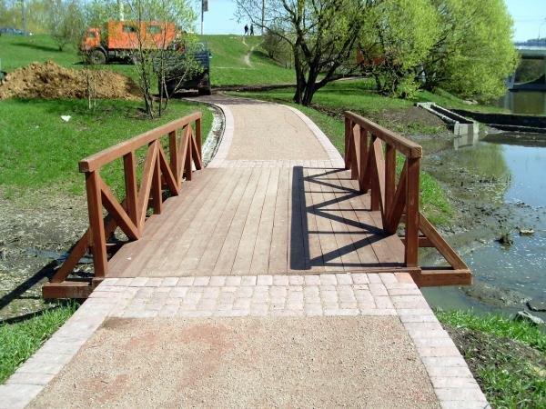 еду техосмотр, строительство моста через ручей своими руками Зоя создана