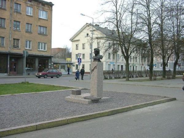 Фото  №1. Эстония, Ida-Virumaa, Narva, Aleksander Puskini, 13