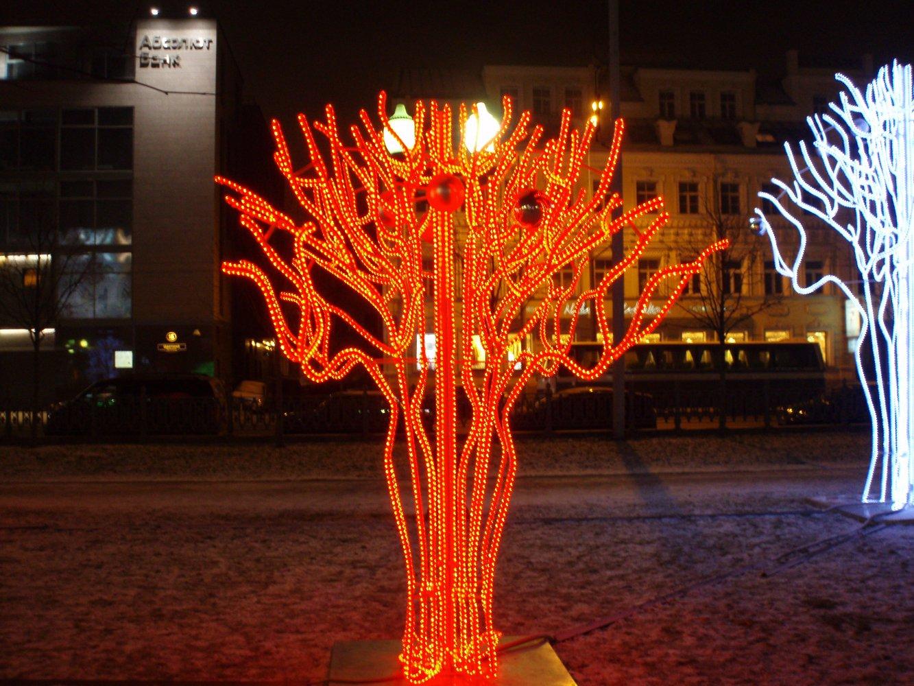 Сделать светящееся дерево своими руками фото