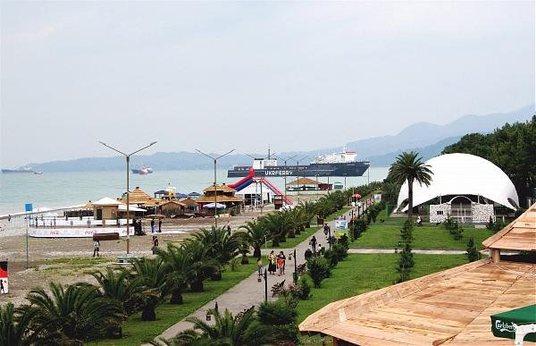 Фото  №4. Грузия, Adjara, Batumi, Gen. A. Abashidze St