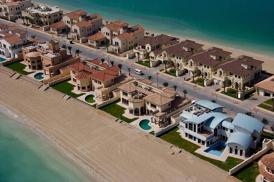 Фото дома на пальме. Объединенные Арабские Эмираты, Дубай, The Palm Jumeira, Al Khalas