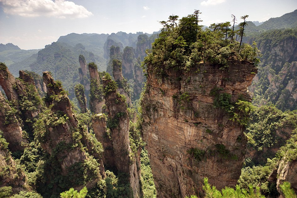 Фото горы Аллилуйя. Китай, Hunan Sheng, Zhangjiajie Shi, 302 Xiang Dao