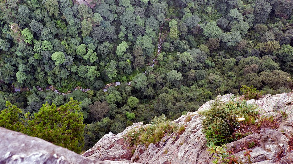 Фото вид сверху. Китай, Hunan Sheng, Zhangjiajie Shi, 302 Xiang Dao